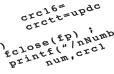 Software statistics