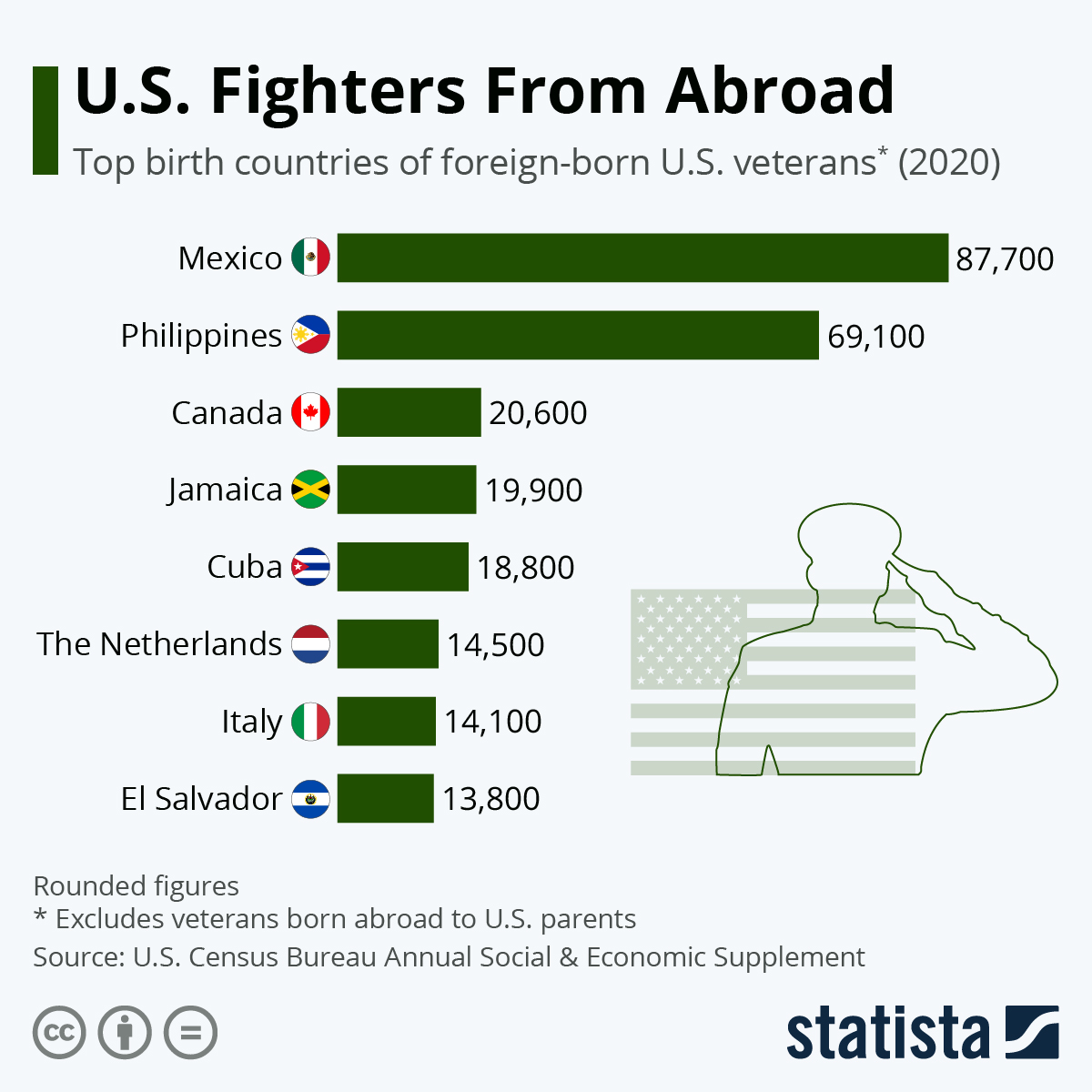 Infographic: Fighters From Abroad | Statista