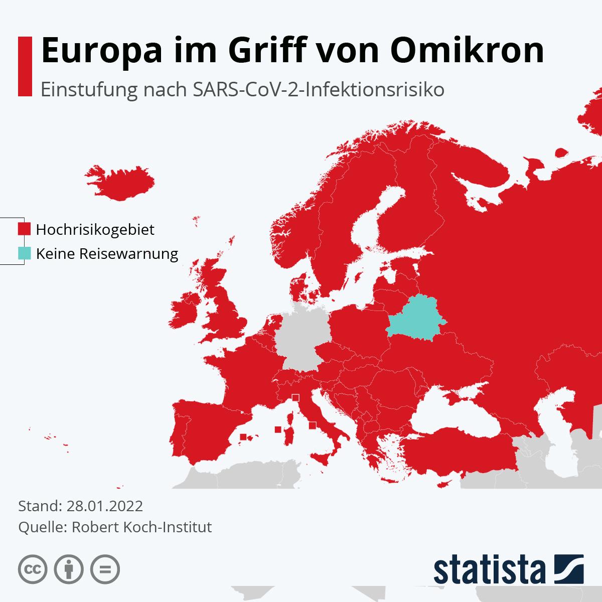 Infografik: Die Corona-Lage in Europa | Statista