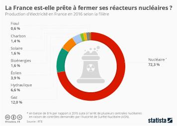 Infographie - La France est-elle prête à fermer ses réacteurs nucléaires ?