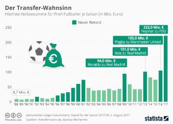 Infografik - Der Transfer-Wahnsinn
