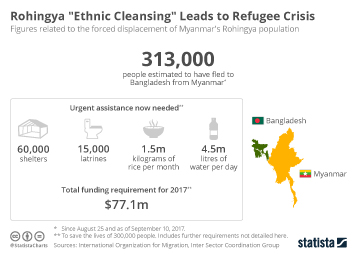 "Rohingya ""Ethnic Cleansing"" Leads to Refugee Crisis"