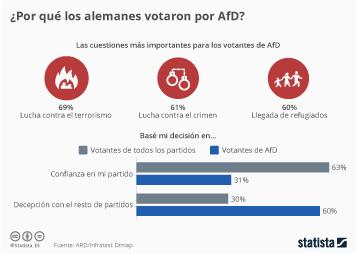 Infografía - ¿Por qué el AfD se ha convertido en la tercera fuerza política en Alemania?