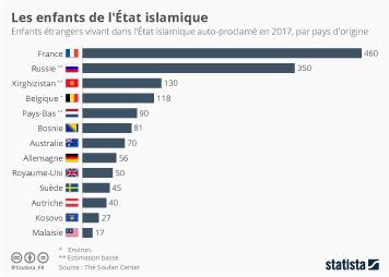 Infographie: Les enfants de l'État islamique | Statista
