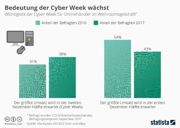 Infografik - Bedeutung der Cyber Week