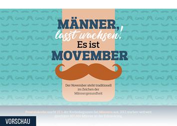 Infografik: Männer, lasst wachsen – es ist Movember   Statista