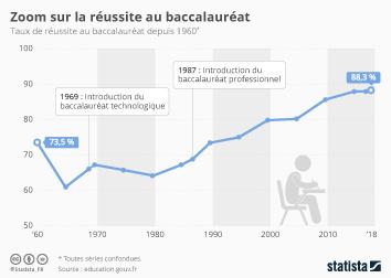 Infographie - Zoom sur la réussite au baccalauréat