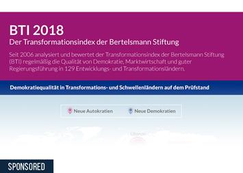 Infografik - Transformationsindex BTI