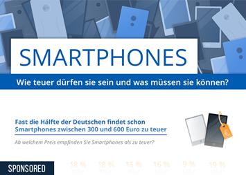 Infografik: Smartphones: Wie teuer dürfen sie sein und was müssen sie können? | Statista