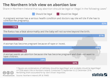 Infographic - The Northern Irish view on abortion law