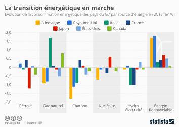 Infographie - La transition énergétique en marche