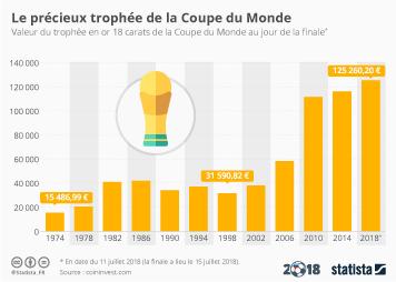Infographie - Le précieux trophée de la Coupe du Monde