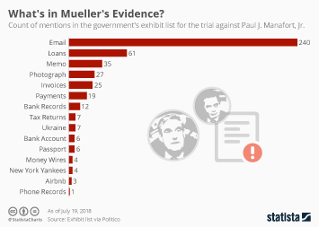 Infographic: What's in Mueller's Evidence? | Statista