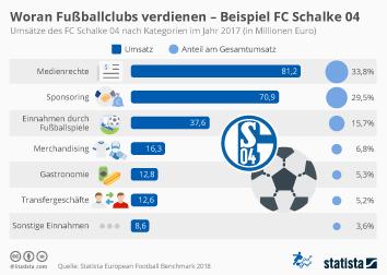Infografik - Umsatz FC Schalke 04