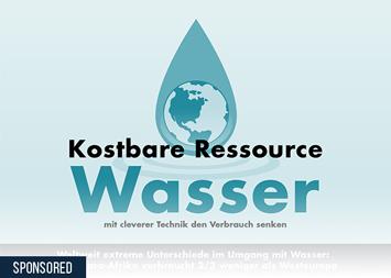 Infografik - Kostbare Ressource Wasser