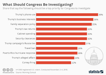 Infographic - What should Congress be investigating