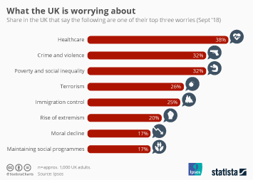 Infographic - What the UK is worrying about