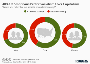 Infographic - US support for socialism