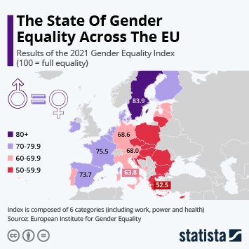 Infographic - Results of the Gender Equality Index