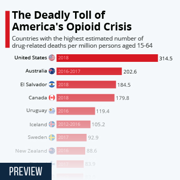 Link to The Deadly Toll of America's Opioid Crisis Infographic