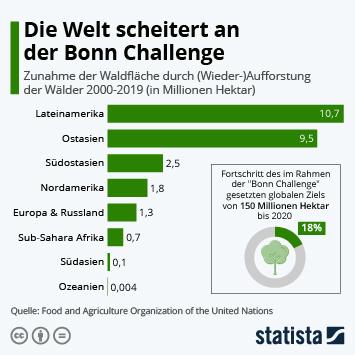 Die Welt scheitert an der Bonn Challenge