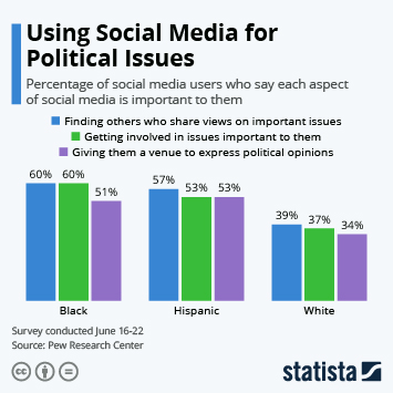 Using Social Media for Political Issues