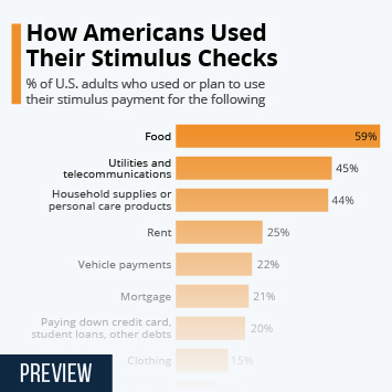 Infographic: How Americans Used Their Stimulus Checks | Statista