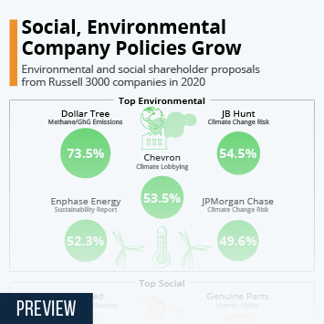 Infographic: Social, Environmental Company Policies Grow | Statista