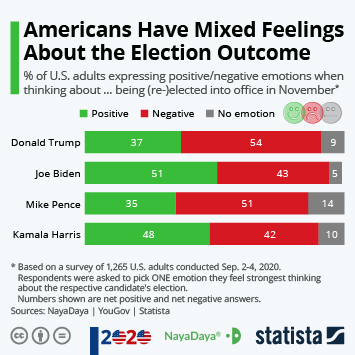 Americans Have Mixed Feelings About the Election Outcome