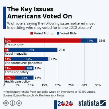 Infographic: The Key Issues Americans Voted On | Statista