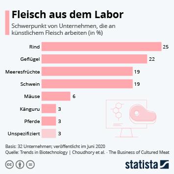 Infografik: Fleisch aus dem Labor | Statista