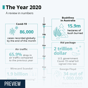 Infographic: The Year 2020   Statista