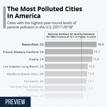Link to The Most Polluted Cities In America Infographic