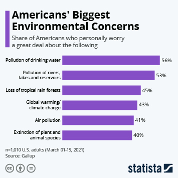 Link to Americans' Biggest Environmental Concerns Infographic