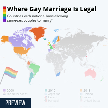 Where Gay Marriage Is Legal