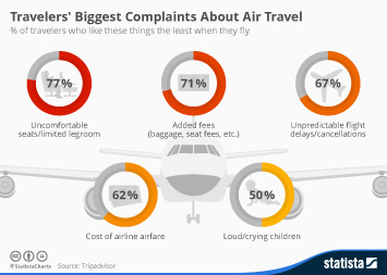 Infographic: Travelers' Biggest Complaints About Air Travel | Statista