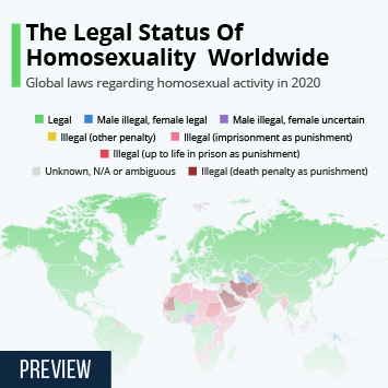 Infographic - Global Laws Against Homosexuality Visualised