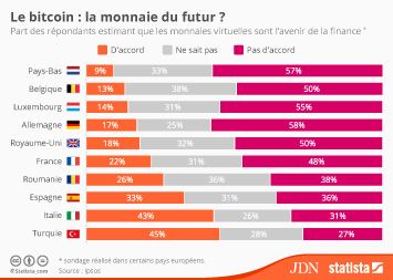 Infographie - Le bitcoin : la monnaie du futur ?