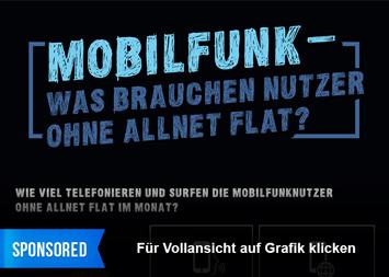 Infografik: Mobilfunk - Was brauchen Nutzer ohne Allnet Flat | Statista