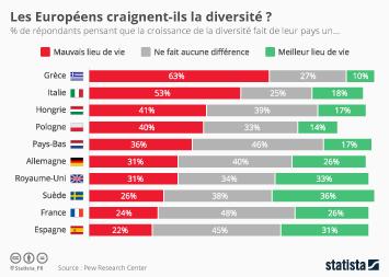 Infographie - Les Européens craignent-ils la diversité ?
