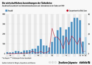 Infografik -  wirtschaftliche Auswirkungen Türkeikrise