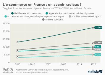 Infographie - L'e-commerce en France : un avenir radieux ?