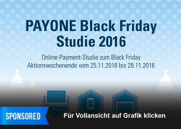 Infografik - PAYONE Black Friday Studie 2016