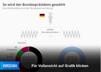 Infografik: So wird der Bundespräsident gewählt | Statista