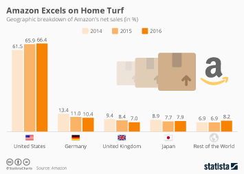 Infographic: Amazon Excels on Home Turf | Statista