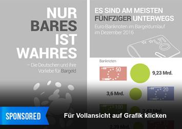 Infografik - Bargeld in Deutschland