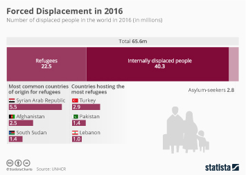 Infographic - Forced Displacement in 2016