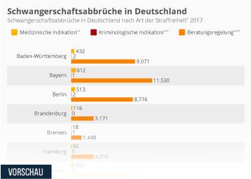 Schwangerschaftsabbrüche in Deutschland