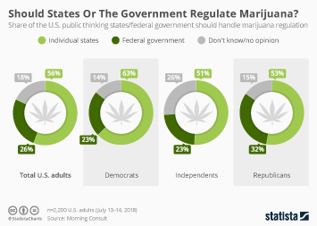 Recreational Marijuana  Infographic - Should States Or The Government Regulate Marijuana?