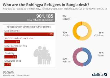 Bangladesh Infographic - Who are the Rohingya Refugees in Bangladesh?